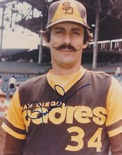 ROLLIE FINGERS    HOF  San Diego Padres   Signed 8x10 color photo