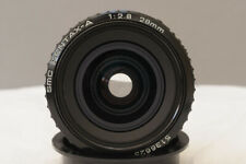 Pentax-A 28mm f2.8 Super SMC Wide Angle Lens, with Caps - looks hardly used