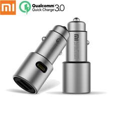 Original Xiaomi Mi Car Charger QC3.0 X2 Dual USB Quick charge Max 5V/3A 9V/2A 15
