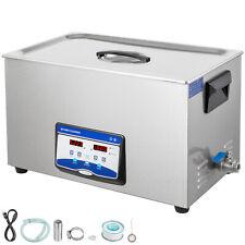 2l Digital dentale Industria Pulitore ultrasuoni Lavatrice Cleaner Timer 100w EU