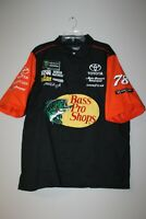 New Martin Truex Jr #78 Bass Pro Shops NASCAR stitched pit crew shirt men's XXL