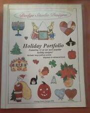 Holiday Portfolio from Dodge Studio Designs - Stained Glass Pattern