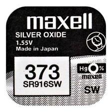 373 Sr916sw Caixa 10 Pilhas original Maxell