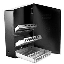 Drill Bit Storage 29pc Replacement Steel Metal Index Case Holder Jobber Box