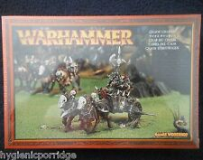 1997 Chaos Warrior Chariot Games Workshop Warhammer Army Evil Fighter Knight MIB