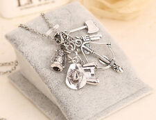 Hot TV Play The Walking Dead Unique Charm Long Chain Pendant Necklace Gift ACGH