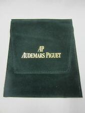 Pouch for a Bracelet Watch New-Old-Stock Genuine Audemars Piguet Green Velvet