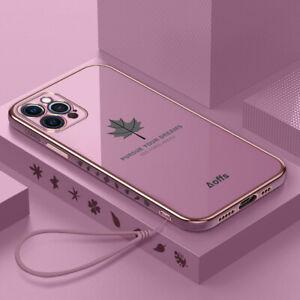 Hülle Für iPhone 11 12 Pro Max XS XR 8 7 Plus SE 2nd Überzug TPU Stoßfest Cover