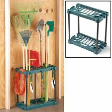 20 Tool Slot Yard Household Shed Garage Garden Tool Organizer