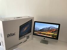 """Okt 2012 Apple iMac 21,5"""" MC309D/A 2011 + OVP Rechner Bildschirm Computer DVD CD"""