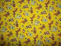 Handmade 100%Cotton Crib Sheet/Dogs,BallsYellow,red white/ Neutral