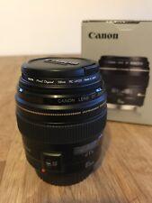 Canon EF 85 MM F/1.8 USM Lentille