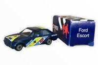 Vtg Boxed Corgi Die Cast Ford Escort Duckhams Oil 1985 Toy Car 1980s Retro (s
