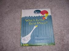 WHICH IS THE BEST PLACE?  by Mirra Ginsburg/1st Ed/HCDJ/Childerns/Literature