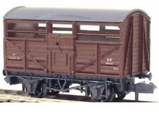 Peco NR-45B(C) BR 8Ton Cattle Wagon B892109 Brown/Grey Livery 'N' Gauge New Case