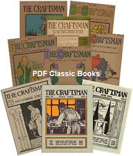 Stickley The Craftsman Magazine Complete 183 Issues House Plans Arts Crafts ~DVD