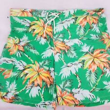 NWT Men Polo Ralph Lauren Swimwear Trunks Board Shorts 2XB Maine BE Green