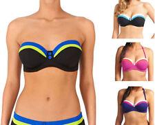 Freya Bandeau Striped Swimwear for Women