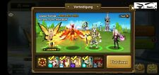 Summoners War SW Account |10k Energy starter  Perna, Ganymede, 2x LD 4* (Amarna)