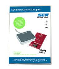 SCM Smart CARD Reader plus – Kartenleser Cloud 2700 R / uTrust 2700 R plus Softw