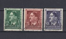 DR, Generalgouvernement, besetzung, 1944, Mi.117-119, used