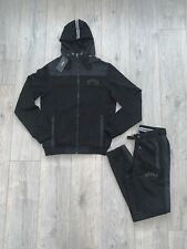 Hugo Boss BOSS New BNWT Tracksuit Zipped Hoodie & Pant Black Size Large