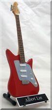 ALBERT LEE Miniature Guitar  Music Man w/ Name Tag