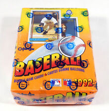 1992 OPC O-Pee-Chee Baseball Box Sealed (36 Packs)