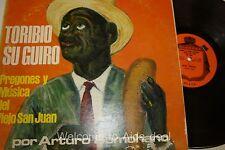 """Toribio Su Guiro Pregones y Musica Del Viejo san juan LP (G) 12"""""""