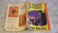 GIALLI ECONOMICI MONDADORI N.5 IL FANTE DI FIORI NOVEMBRE 1933DI E. WALLACE