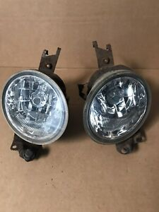 GENUINE SUBARU FORESTER 2002-05 PAIR FOG LIGHTS LEFT AND RIGHT