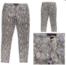 Material Girl Snake Print Junior Skinny Jeans Size: 1 $44