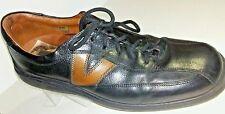Johnston Murphy J&M Black Tan Leather Lace Up Casual Walking Shoes Men 10.5 M
