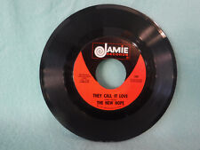 The New Hope, Won't Find Better / They Call It Love, 1969, Jamie Records, 1381