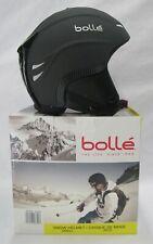 """BOLLE """"BOMBER"""" WINTER SKI SNOWBOARD HELMET (MATTE BLACK) SMALL 55-56CM"""