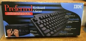Vintage IBM Preferred 28L3621 Wired Keyboard PS/2 to PC-AT Adapter Brand New