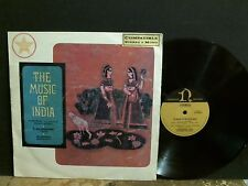 MUSIC OF INDIA  Various  LP   Indian music   Australian comp.    Lovely copy !