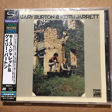 Gary Burton & Keith Jarrett  (Japanese Edition CD with Obi)