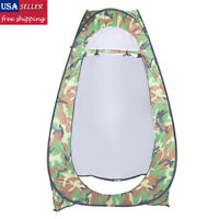 Outdoor Pop Up Tent Camping Shower Toilet Changing Room Privacy Shelter Portable