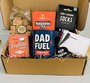 MEN DAD MUG GIFT BOX SET TEA TREATS PAMPER HAMPER FOR HIM BIRTHDAY CHRISTMAS