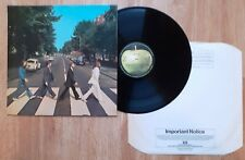 THE BEATLES ABBEY ROAD 1976 UK LP APPLE PCS 7088 5TH PRESS Exc/NM