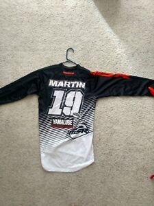 Jeremy Martin Motocross AMA Supercross Jersey MX SX Race Worn