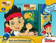 (Good)-Jake and the Neverland Pirates Pop-Up Book and Flashlight Set (Board book
