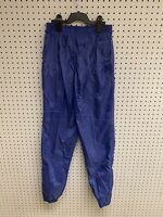 Vintage Nike Check Swoosh Swishy Windberaker Pants Size S