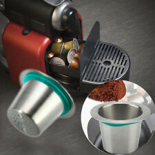 Stainless Steel Reusable Coffee Capsule Filter Pod for Nespresso Machine