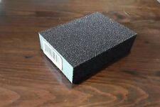 Glit abrasive sanding sponge block dry wet medium grit- 4 sided sponge- 12pcs