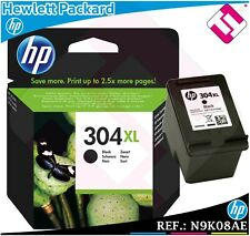 HP TINTA NEGRA 304 XL ORIGINAL CARTUCHO NEGRO CONTIENE 2,5 VECES + QUE LA NORMAL