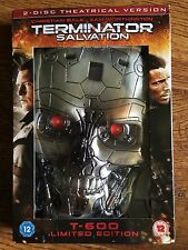 "Christian Bale TERMINATOR SALVATION | 2009 Sci-Fi | HMV Exclusive ""Head"" UK DVD"
