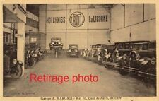 Retirage Photo : COPIE REPRO Garage A. MARGRIS HOTCHKISS 10 Quai de Paris Rouen
