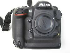 Nikon D4 16.2 MP Digital SLR Camera - Black (Body Only) ONLY 36k Clicks  EXC++